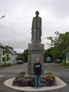 joe-gallaghers-daughter-in-front-of-sean-macdermiada-statue.jpg